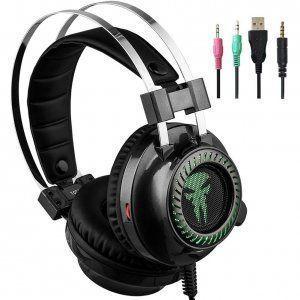auriculares-gamer-negros-logo-verde