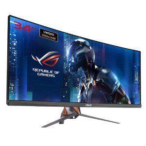monitor-curvo-pantalla-azul-robot