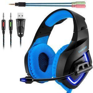 auriculares-gamer-negro-azul-luces-moderno