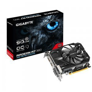 Tarjeta grafica Gigabyte Radeon R7 360 2GB
