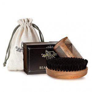 cepillo-peine-barba-marron-caja-marron-bolsa-gris