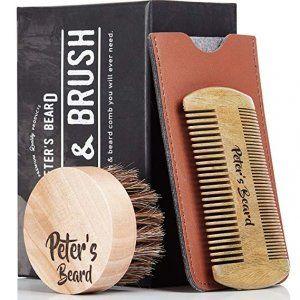 cepillo-peine-barba-marron-funda-caja-negra