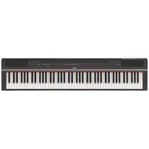piano-digital-yamaha-negro-rojo