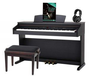 piano-digital-negro-pedal-banqueta-audifonos