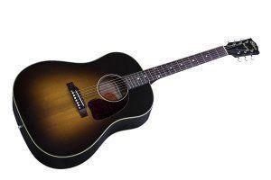 guitarra-oscura-marron-amarillo-negro