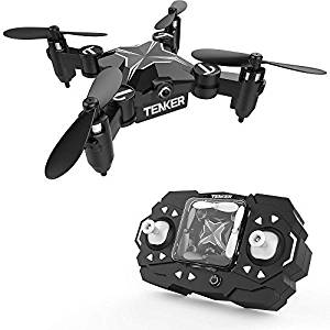 TENKER Skyracer Mini Helicóptero RC, Drone para niños
