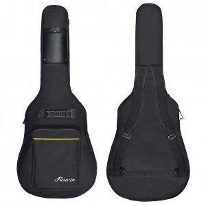 Bolsa-Guitarra-CAHAYA-negro-amarillo