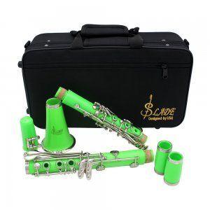 Clarinete-slade-verde