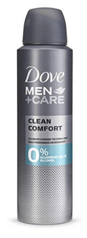 Dove Desodorante 0% Men Clean Comfort